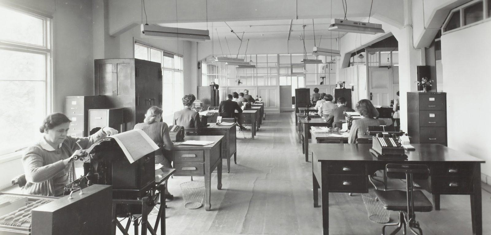 """Expertise """"Wandel im Office-Bereich der Industrieverwaltungen am Beispiel der chemisch-pharmazeutischen Industrie in Berlin"""""""